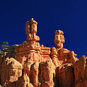 Red Canyon Hoodoos Poster