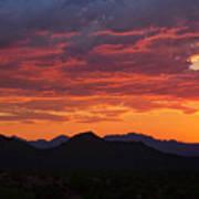 Red Hot Desert Skies  Poster