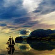 Reflection Bay Poster