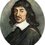 Rene Descartes, 1596-1650 Poster