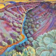 Rio Grande In September Poster by Gina Grundemann