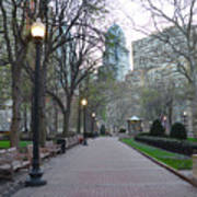 Rittenhouse Square In The Morning Poster