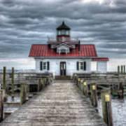 Roanoke Marshes Lighthouse, Manteo, North Carolina Poster