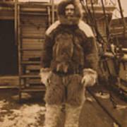 Robert Edwin Peary, American Explorer Poster