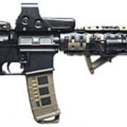 Rock River Arms Ar-15 Rifle Equipped Poster
