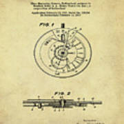 Rolex Watch Patent 1999 In Sepia Poster