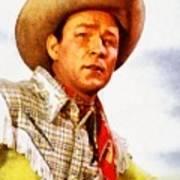 Roy Rogers, Vintage Western Legend Poster
