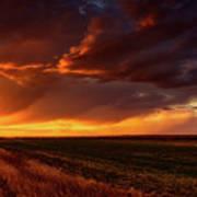 Rural Sunset Beauty Poster
