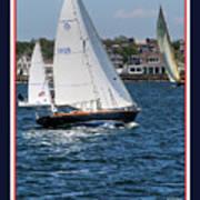 Sailing Newport Poster