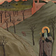 Saint Anthony The Abbot In The Wilderness Poster