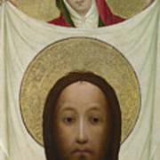 Saint Veronica With The Sudarium Poster