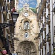 Basilica Of Saint Mary Of The Chorus - San Sebastian - Spain Poster