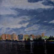 San Wan at Night Poster