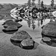 Sand Harbor Ripples Poster