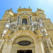Santa Cruz Monastery Facade Poster