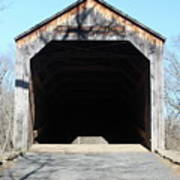 Schofield Ford Covered Bridge Poster