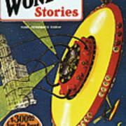 Sci-fi Magazine Cover, 1929 Poster
