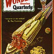 Sci-fi Magazine Cover, 1931 Poster