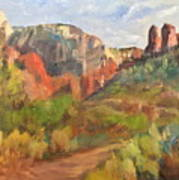 Sedona Afternoon Poster