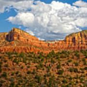 Sedona Mountains Arizona Poster