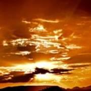Sedona Sunset Poster
