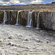 Selfoss Waterfall Poster