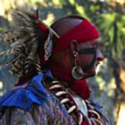 Seminole Warrior Poster