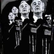 Senator Eugene Mccarthy Fontainebleau Hotel Collage #3 Democratic Nat'l Convention Miami Beach Fl Poster