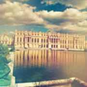 Shabby Chic Versailles Palace Gardens Poster
