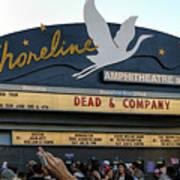 Shoreline Amphitheatre - Dead And Company Poster