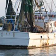 Shrimp Boat Poster