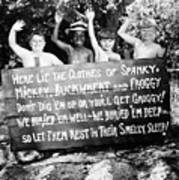 Silent Film: Little Rascals Poster