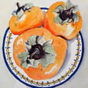 Simply Persimmons Poster