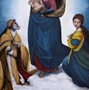 Sistine Madonna Poster