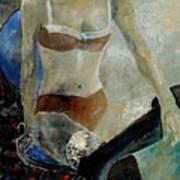 Sitting Girl  Poster