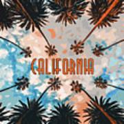 Skies Of California Poster