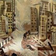 Skyleaking City Poster