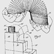 Slinky Patent 1947 Poster