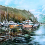 Spring Deep Cove  Poster