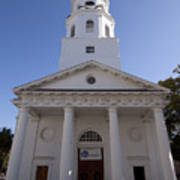 St Michaels Church Charleston Sc Poster