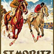 St. Moritz Poster