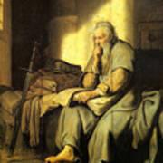 St. Paul In Prison Poster