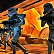 Star Wars Invasion Poster