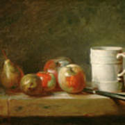 Still Life With A White Mug Poster