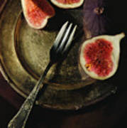 Still Life With Fresh Figs Poster