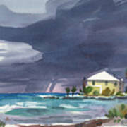 Storm Over Key West Poster