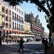 Streets Of Puebla 5 Poster