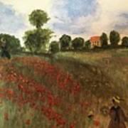 Study Of Monet Poster