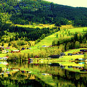 Summer In Norway Poster