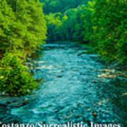 Summer Stream Poster